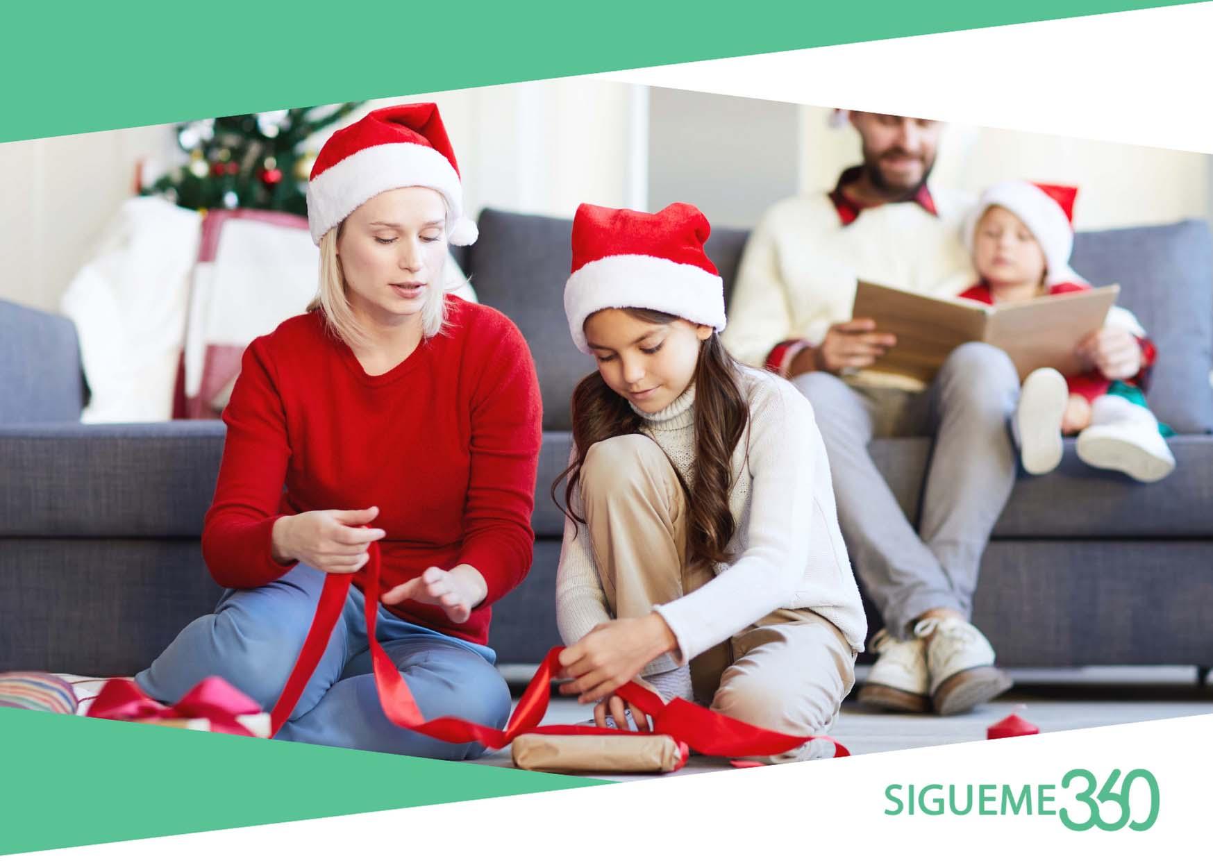 5 ideas para estar en casa en Navidad